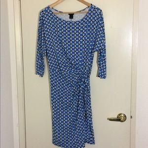 Ann Taylor Wrap Dress, L